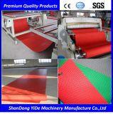PVC 차 지면 매트 또는 양탄자 또는 패드 밀어남 기계 선