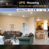 Villas préfabriquées préfabriquées chaudes de construction en béton avec la longue envergure de service