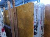 Amarelo dourado para a laje de azulejos em mármore