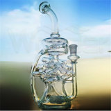 Tubos de água de vidro de borosilicato alto para fumar tabaco