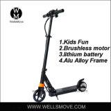 저속 100W 리튬 전지 효력 큰 아이 스쿠터 장난감