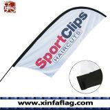 Флаги ножа печатание цифров, напольные флаги