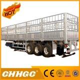 3 assi da 40 tonnellate della casella del palo del camion rimorchio semi