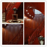 2015 Hangzhou Welbom Dark Red Antique Product Spiral Stair Designs