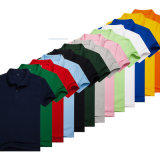 Hot Sale wholesale polo à manches courtes Tee-shirts ordinaire pour la promotion