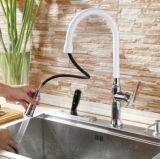 Robinet de finition de bassin de cuisine de chrome de modèle moderne