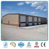 Edificio estructural de acero pre dirigido del almacén del calibrador ligero