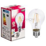 Ampoule de cru de l'ampoule A60 4W 6W 8W DEL de filament avec 360 degrés