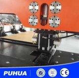 Машина CNC пробивая на пробивать лист толщины 25mm
