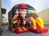 Novo Design Inflável Bouncy Jumping Castle para Carton Popular