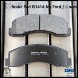 Almofada de freio dianteira Semi-Metallic D1414 ajustado do disco para as peças do caminhão de Ford F-150