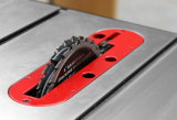 Arbeitsplatz-Holzbearbeitung-Tisch der Holzbearbeitung-Maschinen-HW110WSE sah mit Fräser