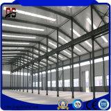 Große Überspannungs-Stahlkonstruktion für Industrie-Lager