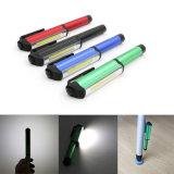 Bewegliche Mini-LED-Magnet PFEILER Inspektion-Arbeits-Licht-Lampe Multifunktions-PFEILER LED Minifeder PFEILER Arbeits-Taschenlampe PFEILER Quadrat
