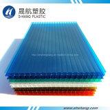 Vari colori dello strato gemellare della cavità del PC del policarbonato della parete