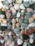 بيضاء مستديرة حصاة حجارة بيع بالجملة لأنّ حديقة