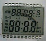 7 Segmente LCD-Bildschirmanzeige-kundenspezifisches Segment LCD