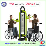 Strumentazione Handicapped esterna di forma fisica della sosta di ginnastica resa non valida campo da giuoco