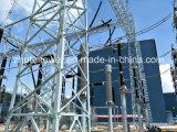 struttura d'acciaio della sottostazione di angolo di 35-500kv Q345 da vendere