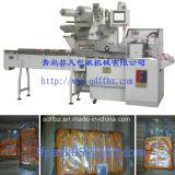 Empaquetadora de desinfección automática de alta velocidad del flujo del grupo de los trapos