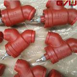 CVD - uma válvula de retenção de ângulo direito de solda