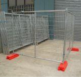オーストラリアのプラスチック塀のブロックが付いている一時塀のパネル