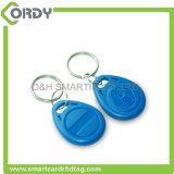 Keyfob bon marché en plastique de l'IDENTIFICATION RF tk4100 de mangue d'IDENTIFICATION RF de LF 125kHz /HF 13.56MHz