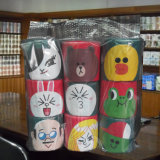 クリスマスのToileのペーパーロール習慣によって印刷されるトイレットペーパータオル