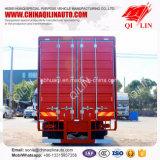 Dongfeng Tianjin 4X2 180HP 7 van de Nuttige lading van de Doos Ton van de Vrachtwagen van de Lading