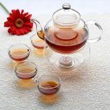 Ручной работы из стекла Borosilcate набор для приготовления чая - Стекло, При свечах Teapot подогреватель детского питания, двойные стенки чашку чая, Китайский чай Gongfu