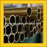 Tubo d'ottone di alluminio, tubo d'ottone filettato