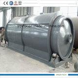 12ton fábrica de pirólise de resíduos de reciclagem de óleo de Pneus
