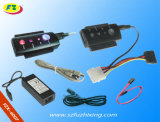 USB 2.0 câble SATA/connecteur IDE avec 4 LED (FZX6007)