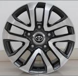 Borda de alumínio da roda da liga do carro da réplica para Toyota