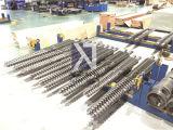 Bimetallische Doppelschraube für Plastikmaschine
