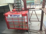 Construction Used Single Cage Painting Mast Section Construction Hoist