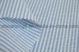 Tela tingida fio poli/rayon, listrada, 190GSM
