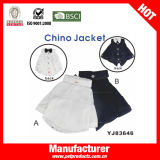 Fashin Чино куртка, собак собак торговой марки одежды (YJ83646)
