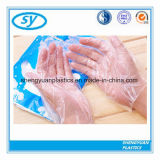 Guantes médicos plásticos plegables disponibles del LDPE del HDPE