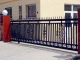 私道の装飾用の装飾的な塀の錬鉄のゲートの滑走