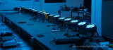 Het waterdichte Openlucht6in1 LEIDENE 18*15W RGBWA+UV Vlakke Slanke Licht van het PARI