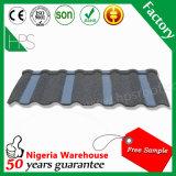 Tuile de toit chaude de matériau de construction de vente de l'Afrique de garantie de la tuile 50years de pierre de matériau de toiture de feuille de toit