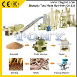 (A) 1-3T/H Ligne de production de granules de bois pour le bois en caoutchouc