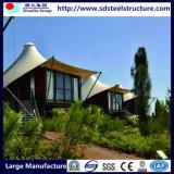 네팔 대학 & 높은 건물에 있는 조립식 집 디자인