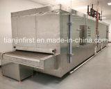 Túnel de alimentação diretamente da fábrica de congelador rápido para torta de ovos de marisco