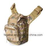 Solo bolso militar impermeable al aire libre de la montura del hombro de Camo