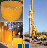 Professional tubo carcasa de acero sin costura para la construcción