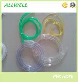 Tube de niveau clair transparent flexible de tuyau de l'eau de PVC de plastique