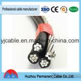 D'usine fournisseur en aluminium de câble d'ABC isolé par XLPE de conducteur d'application supplémentaire de basse tension de vente directement