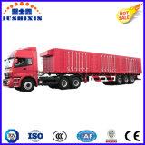 3 Eixo 50t Caminhão de carga a granel Semi-reboque / Carga / utilitário Box Trailer
